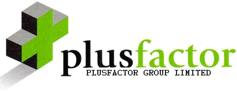 Plusfactor Company Logo